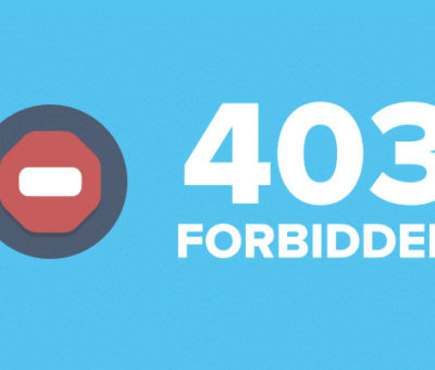 Fix a 403 Forbidden Error