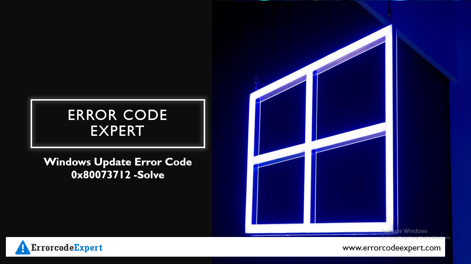 windows error 0x80073712