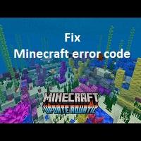 fix Minecraft error code