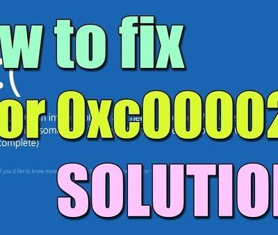 Fix BSOD Error 0xc000021a