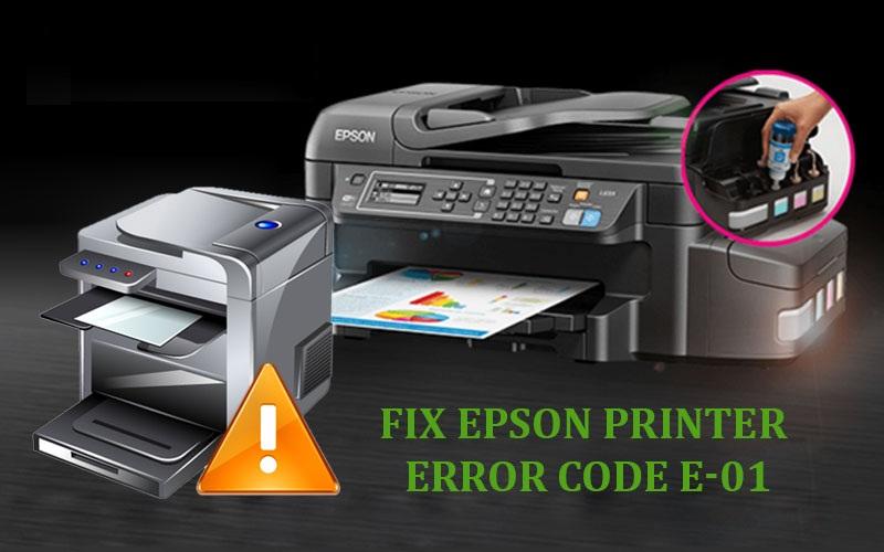 Epson Error Code E-01