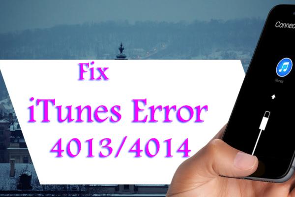 Fix iTunes Error 4013 4014