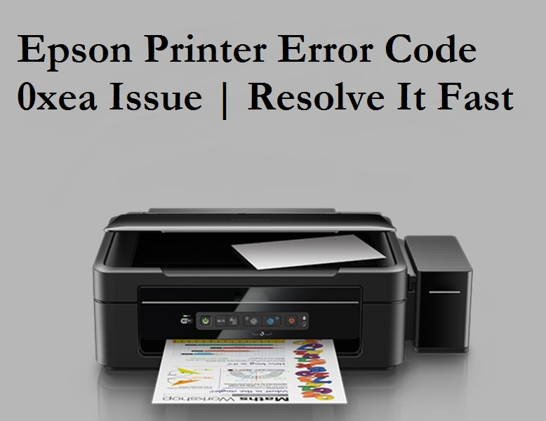 Epson Printer Error 0xEA