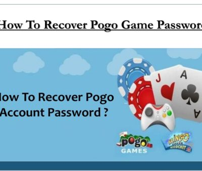 Recover Pogo Game Account Password