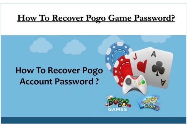 Recover Pogo Game Account Password