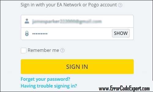 Sign-in-pogo-account