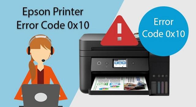 Epson Error Code 0x10
