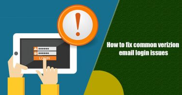 Common Verizon Email Login Problems
