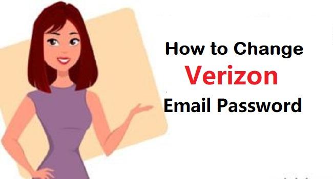 Change Verizon Email Password
