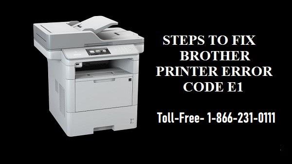 Brother Printer Error E1