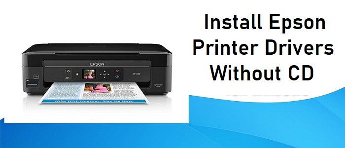 Install Epson Printer Drivers Without CD