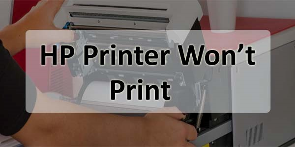 HP Printer Won't Print