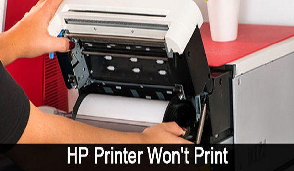 HP Printer Wont Print